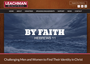 Leachman Ministries Launches Website